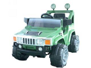 Power Kids Ride on Hummer Jeep Car w Big Wheels R C Remote