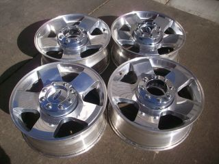 Ford F250 F350 Factory Super Duty Polished Factory Wheels Rims