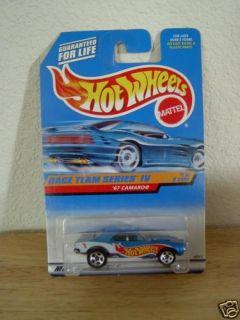 Race Team Series IV 67 Camaro Hot Wheels 1