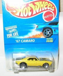 Hot Wheels 1996 67 Camaro 448