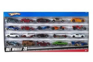 Hot Wheels 20 Car Gift Pack Styles May Vary Car Vehicles Toy Boys Kids