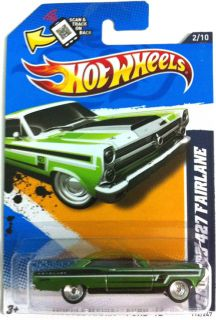 Hot Wheels 2013 66 Ford 427 Fairlane Super Treasure Hunt