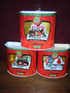 of 3 Holiday Hot Wheels Christmas Ornaments 1999 Millenium Edition