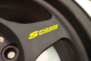 Spoon Sports Rim Decal Sticker Slipstream Rota JDM 15