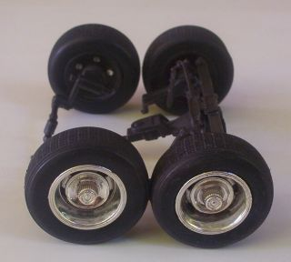 Tires N 4 GM Rally Wheels Only Revell 1 18 Chevy 1969 Car Parts Used