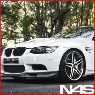 BMW E92 E93 M3 Rohana RC5 Black Concave Staggered Wheels Rims