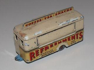 Lesney Matchbox Regular Wheels No 74 Mobile Canteen in Cream