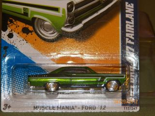2012 Hot Wheels Hidden Super Treasure Hunt 66 Ford 427 Fairlane