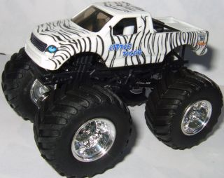 Tiger Custom Made Monster Jam Truck Hot Wheels 1 64 Sweet Truck
