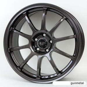 17 Rota G Force Gunmetal Rims Wheels Tires WRX Impreza