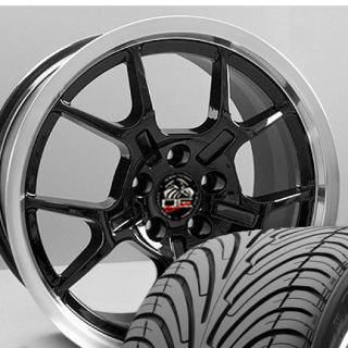 18 Rim Fits Mustang® GT4 Wheels Nexen 3000 Tires 05 and Up Black