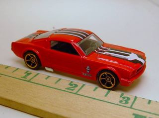 Hot Wheels 65 Mustang Fastback Competition Racer HTF