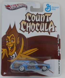 Hot Wheels General Mills Count Chocula Cereal 70 Chevelle SS Wagon Die