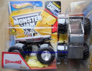2013 EXCALIBER Vintage Hot Wheels Monster Jam 1 64 scale truck with