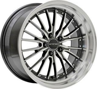 Demeanor Wheels Set For Nissan 350Z Infiniti G35 Coupe Staggered Rims