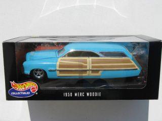 18 Diecast Hot Wheels 1950 Merc Woodie Custom Cruiser