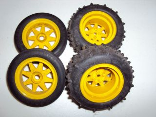 Vintage Tamiya The Falcon Wheels Rims Tires