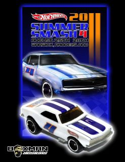 2011 Summer Smash Four Hot Wheels 67 Camaro Boxman