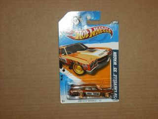 Hot Wheels 2012 Super Treasure Hunt 70 Chevelle SS Wagon