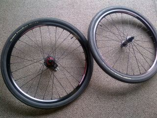 CRUPI Rhythm BMX Wheels Set Expert