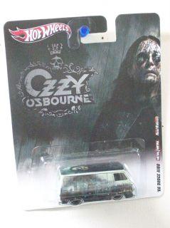 Hot Wheels 2012 Nostalgia Live Nation Ozzy Osbourne 66 Dodge A100 Van