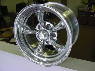 Torq Thrust Wheels 15 x 8 Chevy Chevelle GM 5 on 4 75 BP American