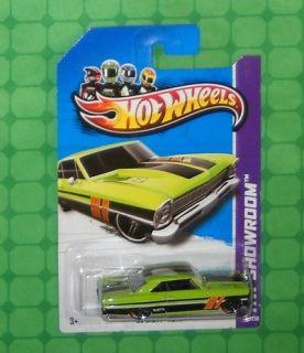 2013 Hot Wheels HW Showroom Muscle Mania 231 66 Chevy Nova