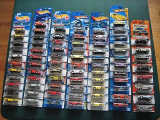 Lot of 76 Hot Wheels Matchbox Ferrari Collection htf variations New on