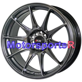 Chromium Black Concave Rims Staggered Wheels 03 07 Infiniti G35 Coupe