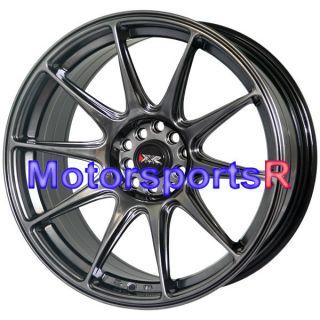 Chromium Black Concave Rims Staggered Wheels 03 07 Infiniti G35 Coupe