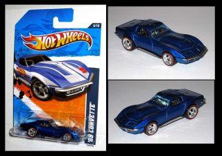 Hot Wheels `69 Corvette Custom Made Redline Real Riders
