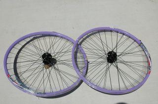 ALEX DP20 Rims Wheel Set 26x1.5   Disc 6 Bolt 8/9 Speed Bike Wheels