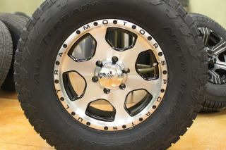 17 Ultra rims wheels 285 70 17 Nitto Terra Grappler AT 6x5 5 Chevy GMC