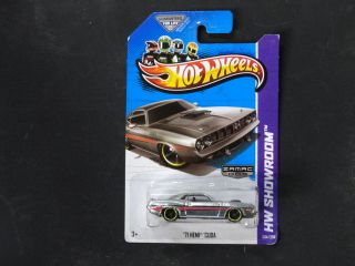 HOT WHEELS 2013 HW SHOWROOM WAL MART EXCLUSIVE MUSCLE MANIA ( 71 HEMI