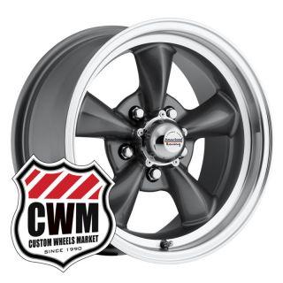 Gray Wheels Rims 5x4 75 Lug Pattern for Chevy El Camino 64 81