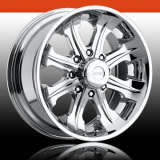 20x9 Whip 8 Lug 8x6 5 Chrome One Single Replacement Wheel Rim