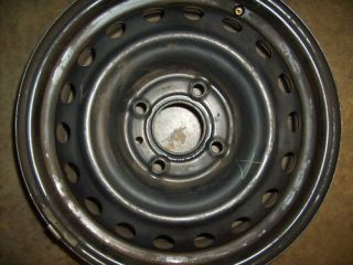 07 08 09 10 Nissan Versa Steel Wheel Rim 15 Used
