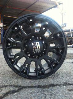 17 Black Rims Tires 8x165 Hummer H2 SUT Falken at LT315 70 17 XD