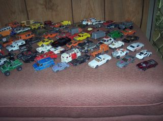 Mixed Lot of Hot Wheels and Other Little Cars Vintage