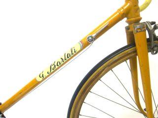 GINO BARTALI CAMPAGNOLO WOODEN RIMS BIKE RARE BICYCLE ITALIAN SIMPLEX