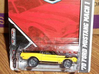 Hotwheels Hotwheels Garage 70 Ford Mustang Mach 1