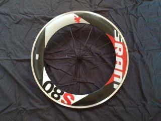 SRAM S80 Red Front Wheel Aero Carbon 2011