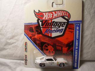 Hot Wheels Vintage Racing 4 30 Dave Stricklers 70 Chevy Camaro RS