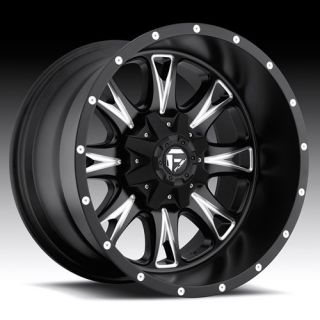 Throttle D513 Wheel Set XD Black 18x10 Rims Ford Chevy Wheels