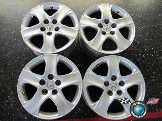 05 08 Acura RL 3 5 Factory 17 Wheels Rims OEM Silver 71743 42700SJAA81
