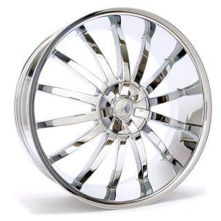 24 inch Sik 001 Rims Wheels and Tires Tahoe Z71 Yukon Avalanche Sierra