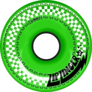 Zip Zinger Neon Green 58mm 78D Speed Urethane Skateboard Wheels