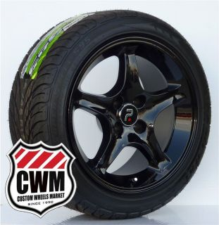 Wheels Rims 4 Lug 18 mm Offset Tires Fit Ford Mustang 79 93