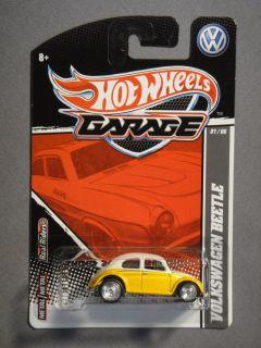 HOT WHEELS GARAGE REAL RIDERS VW VOLKSWAGEN BEETLE #1 DIECAST CAR NEW