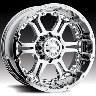 18 Wheels Rims Gear Alloy Recoil Chrome Wrangler Rubicon Sahara Yukon